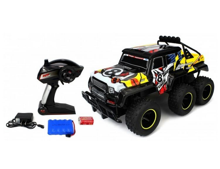 Off Road Wagon >> Hot Item 28281505 Velocity Toys Speed Wagon 6x6 Rc Truck 2 4 Ghz Off Road 1 10 Rtr