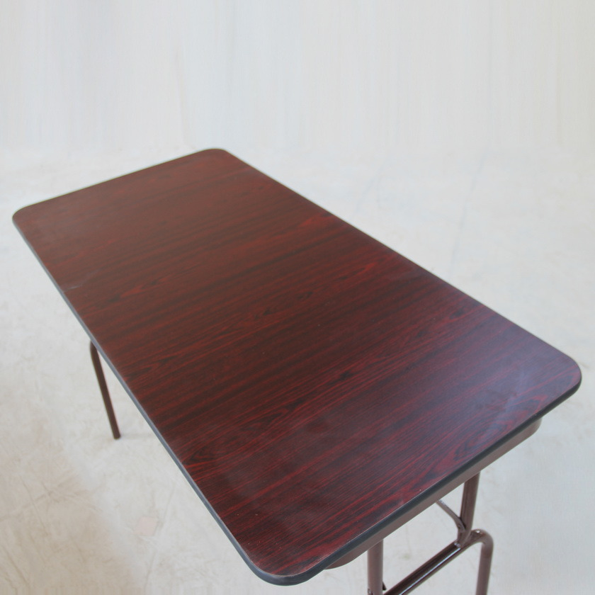 Hot Item Commercial Rectangle Mdf Wood Folding School Dining Tables