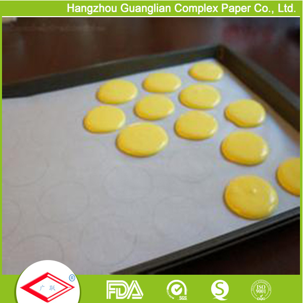 Siliconized Non-Stick Dim Sum Steamer Paper for Chinese Dumplings pictures & photos