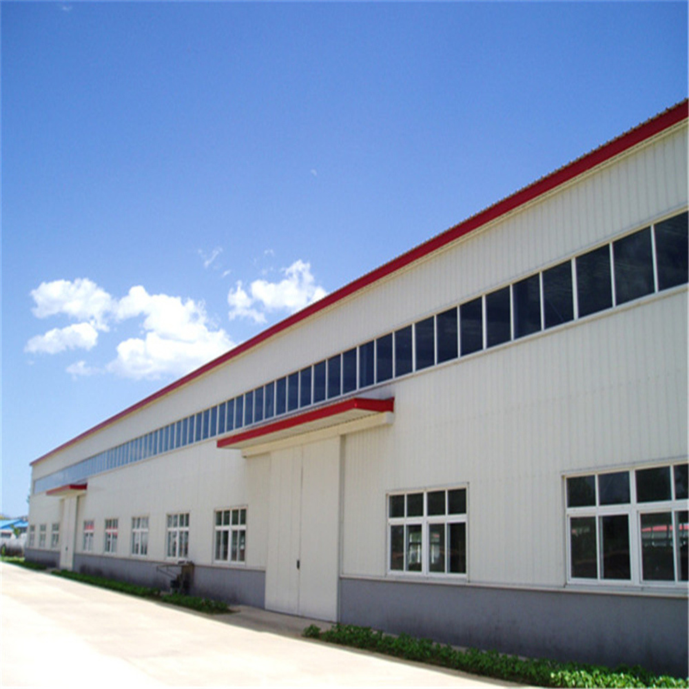 Affordable & Multifunctional Prefabricated Steel Frame Warehouse pictures & photos