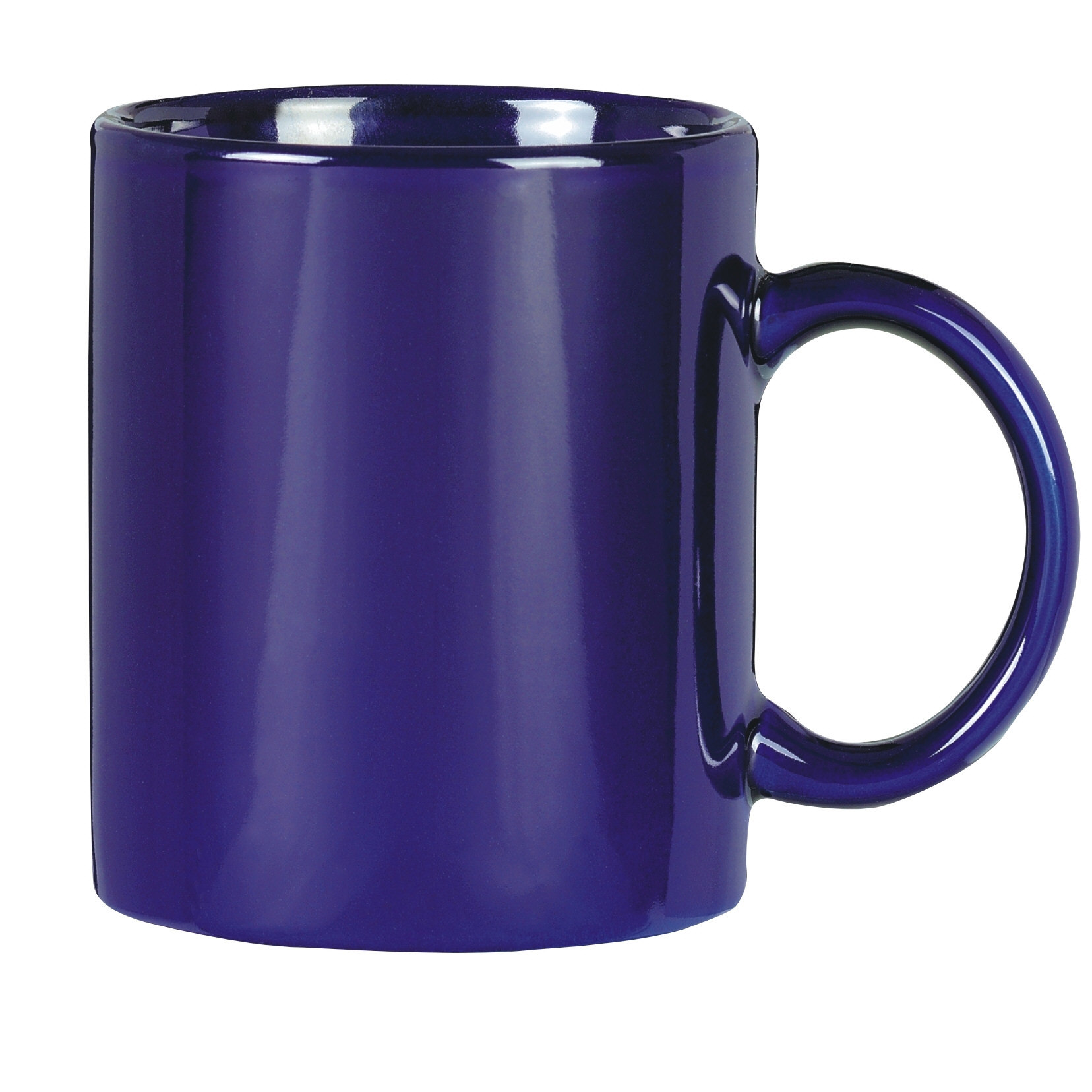 China Dark Blue Color Ceramic Mug China Promotional Cup And Coffee Cup Price