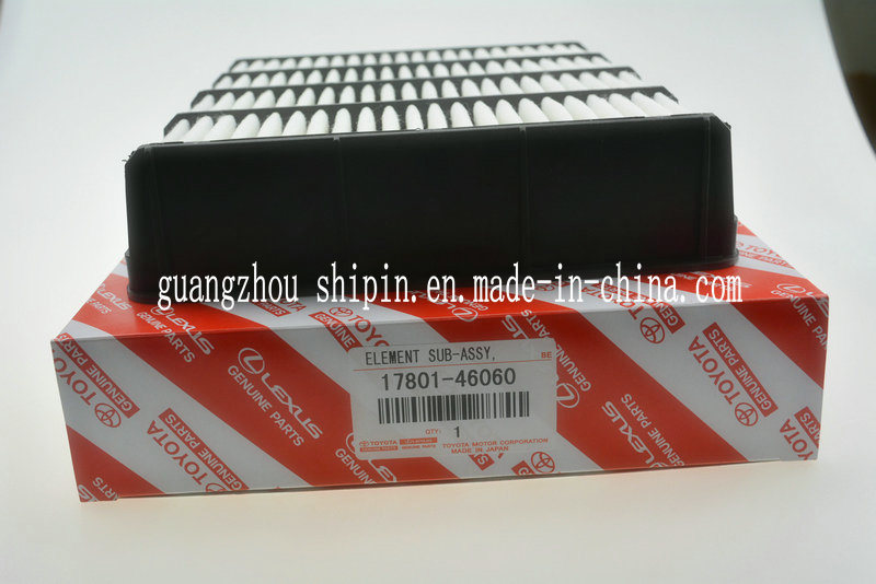 China 17801-46060 Engine Spare Parts Car Air Filter Replacement for ...