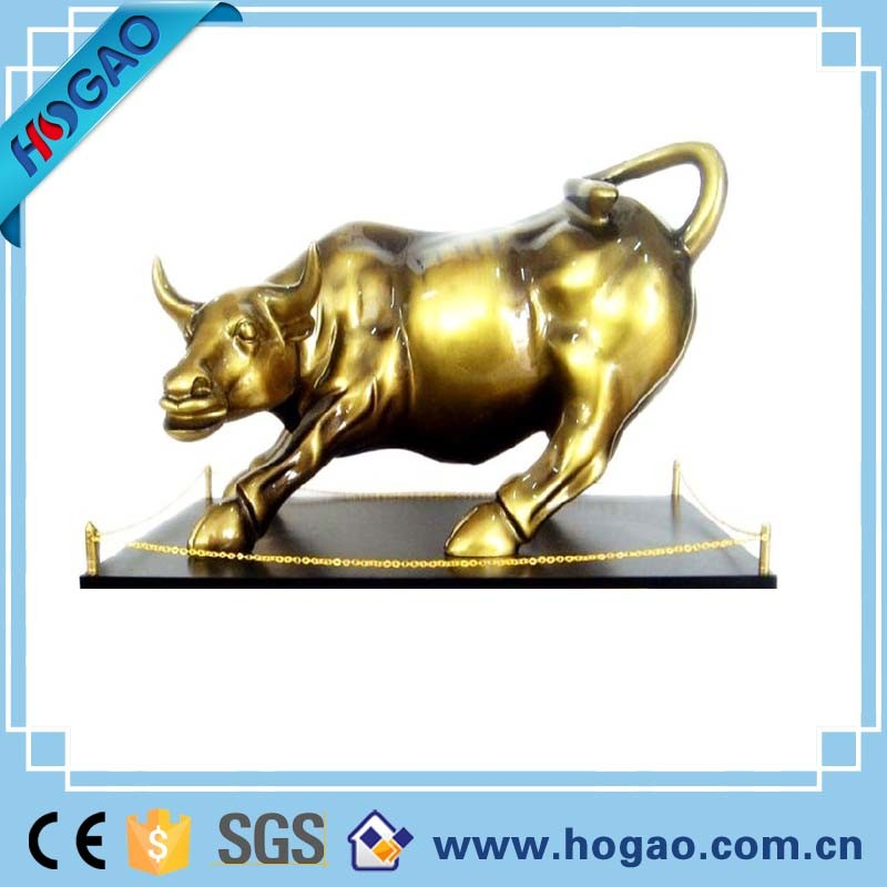 Abstract Art Sculpture Decoration China Copper Bronze Bull Statue