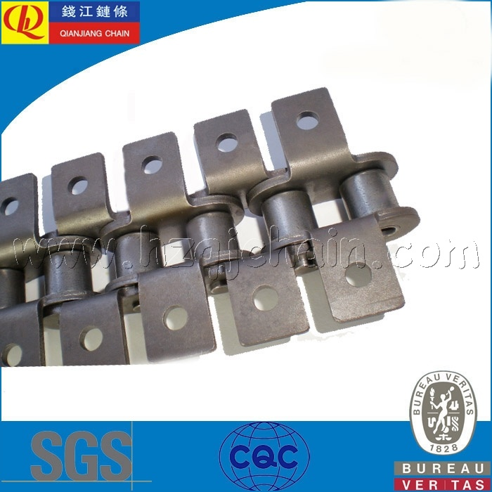 Short Pitch Transmission Roller Chain with Attachments pictures & photos