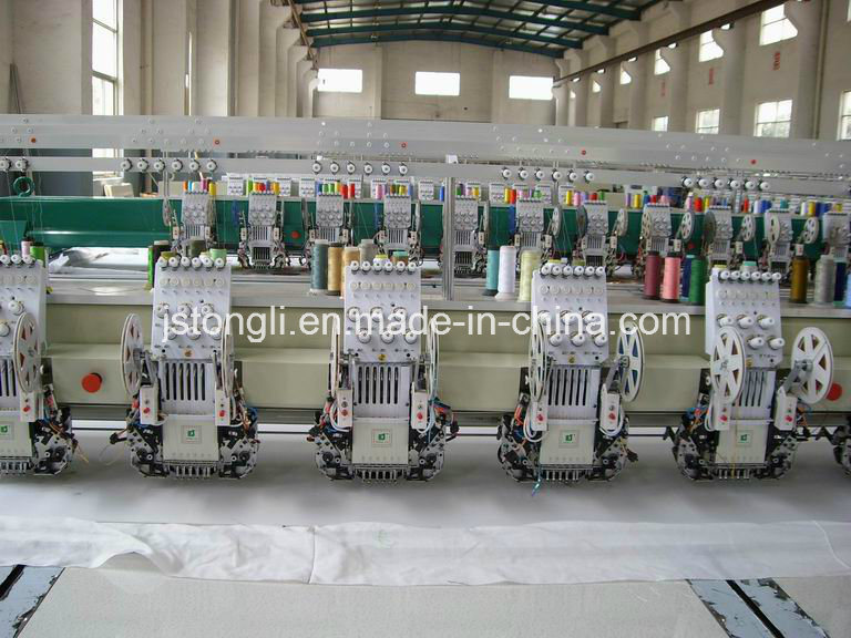 15 Heads Double Sequin Embroidery Machine (TL-915) pictures & photos