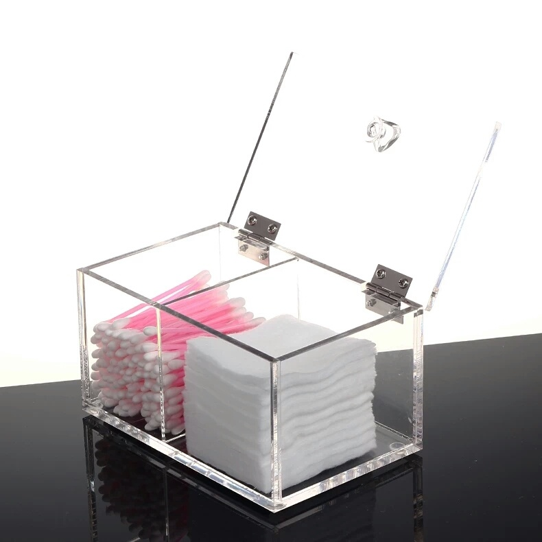 China Clear Acrylic Makeup Storage Display Boxcasecontainer With