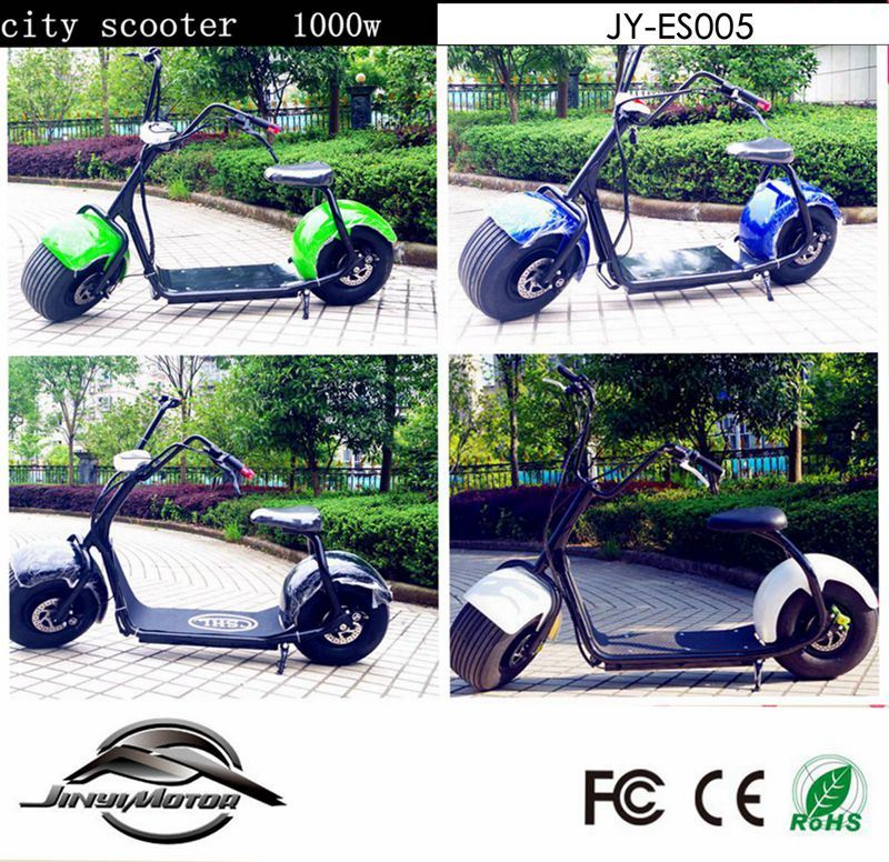 New Designed Quality 1000W City Electric Scooter with Convenience