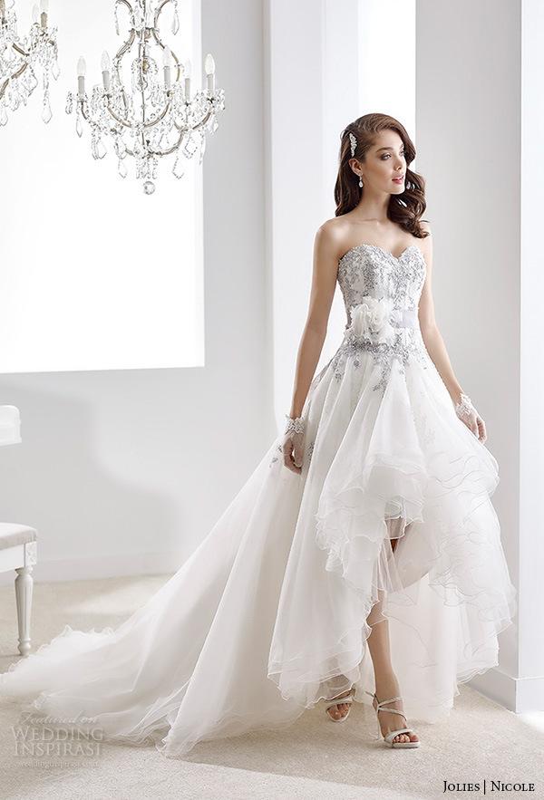 China Purple Lace Bridal Gown Color Accent Hi-Low Wedding Dress Ya89 ...