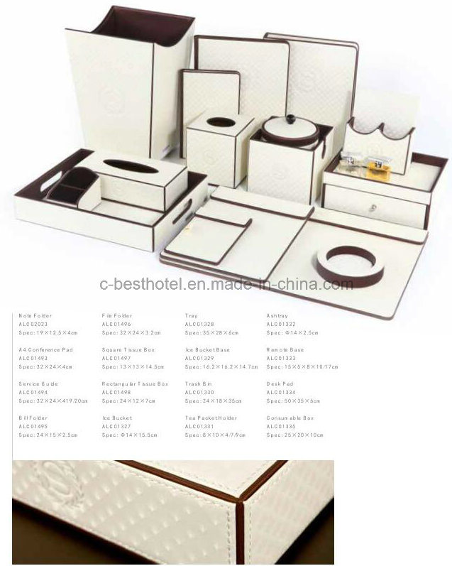 Hotel Leather Bill Holder, Hotel Amenities