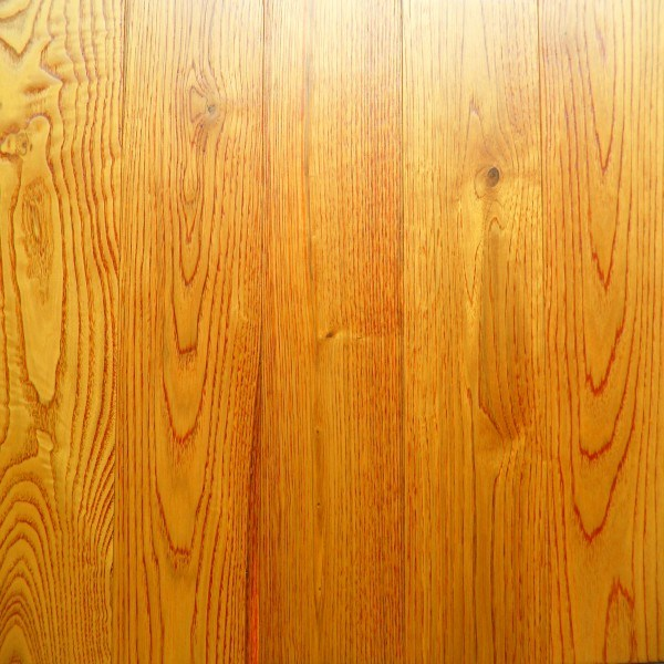 China Oak Distressed Hardwood Floors For Indoor With Honey Color