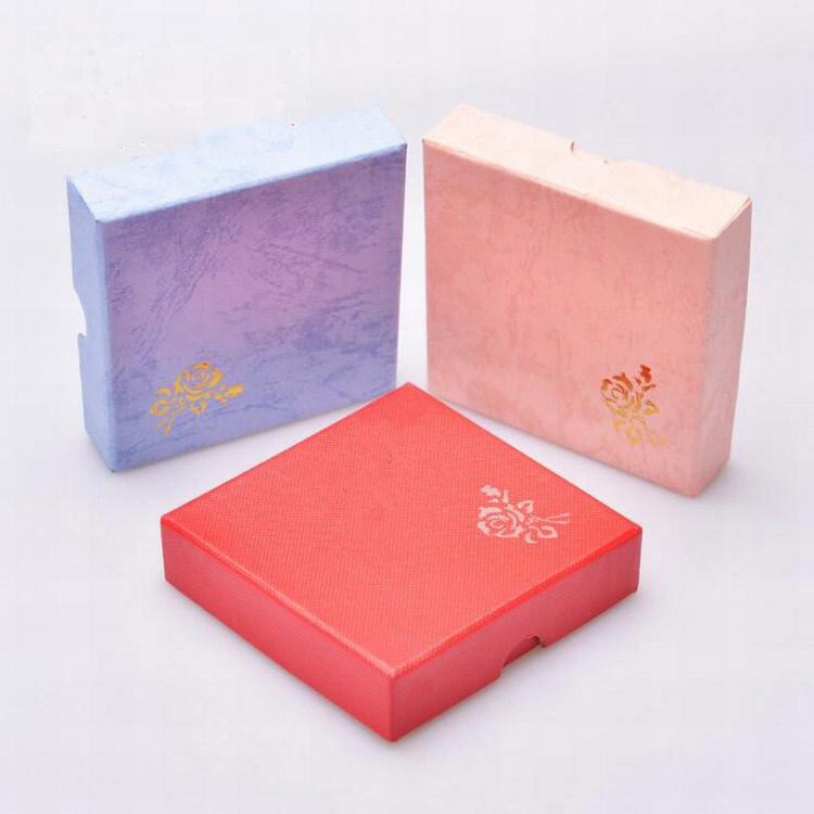 China Custom Logo Jewelry Packaging Box Ring Necklace Bracelet Gift Gw79