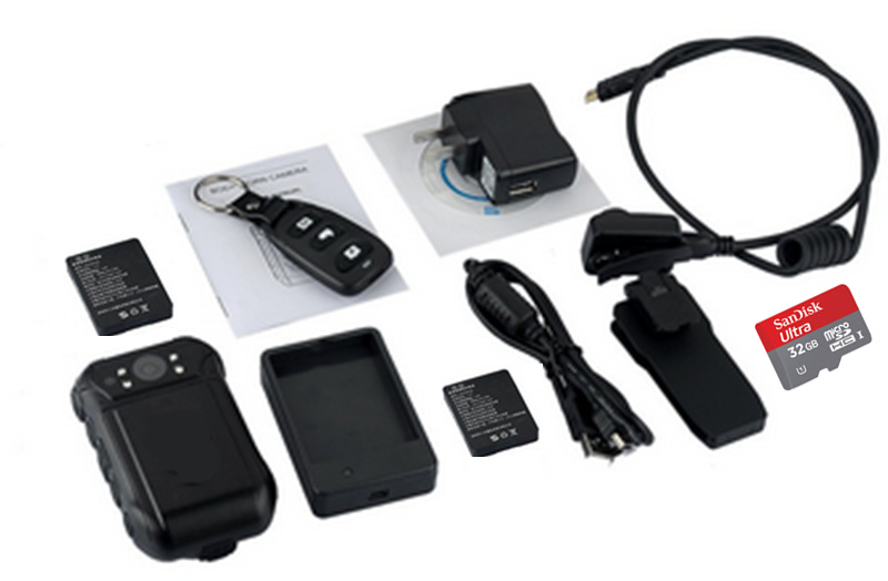 Police DVR Video Recorder Personal Mini Body Wear Cameras pictures & photos