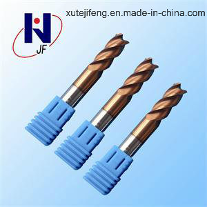 Multi-Functional Solid Carbide CNC Cutting Tool with Tixco Coated