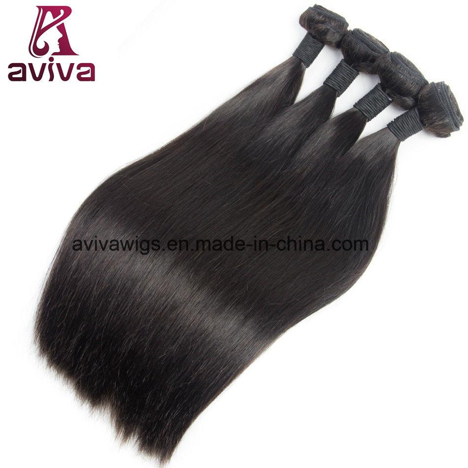 China Silky Straight Peruvian Natural Virgin Hair Extension Photos