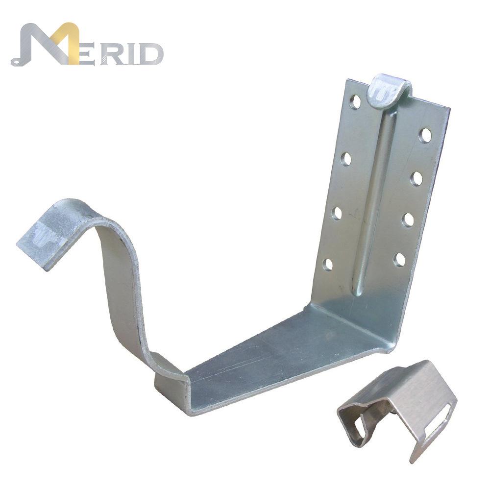China Customized Metal Hidden Gutter Hangers Photos Pictures