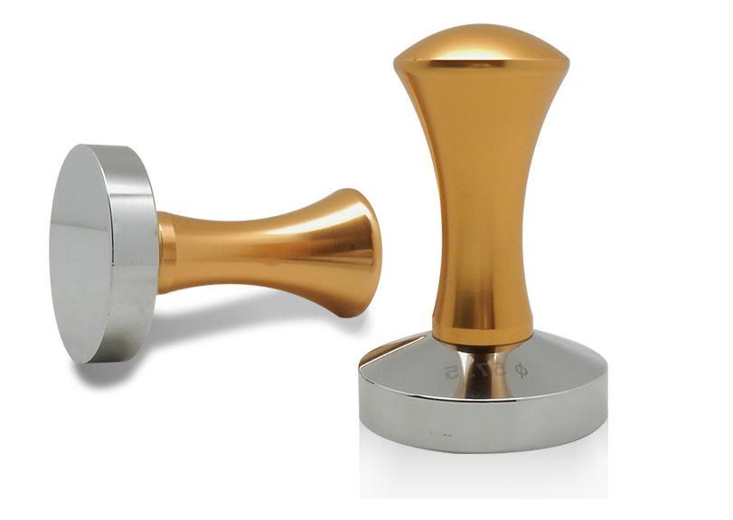 Custom base Tamper for Espresso Machine Coffee Bean Press Stainless Steel