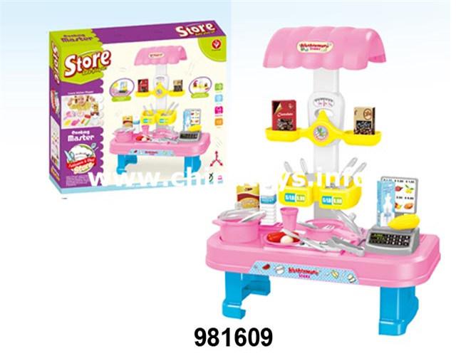 China Promotion Gift Kids Toy Kitchen Set Cooking Toy Manufacturer