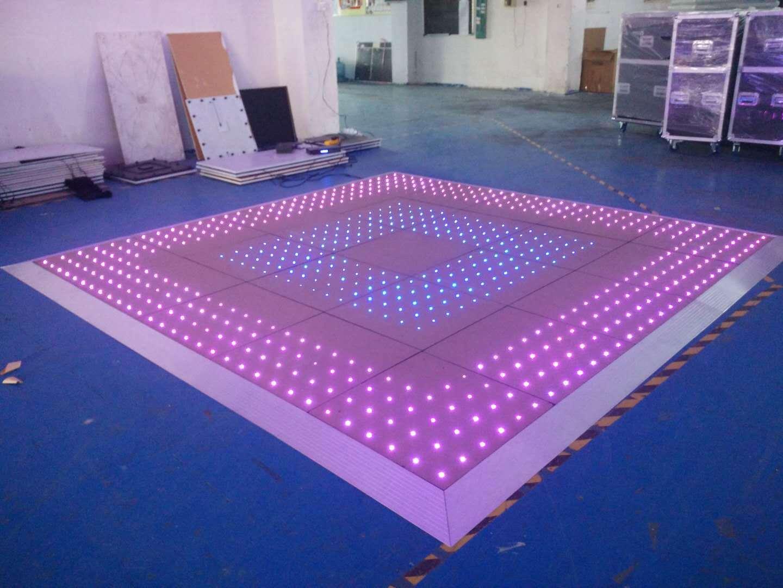China Dancing Led Lights Lighted Floor Panels Portable Dance Floor
