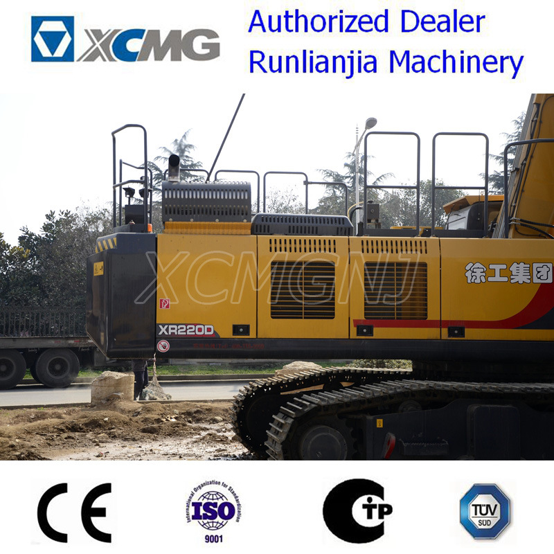 XCMG Xr150d Rotary Drilling Rig for Ce with Cummins Engine