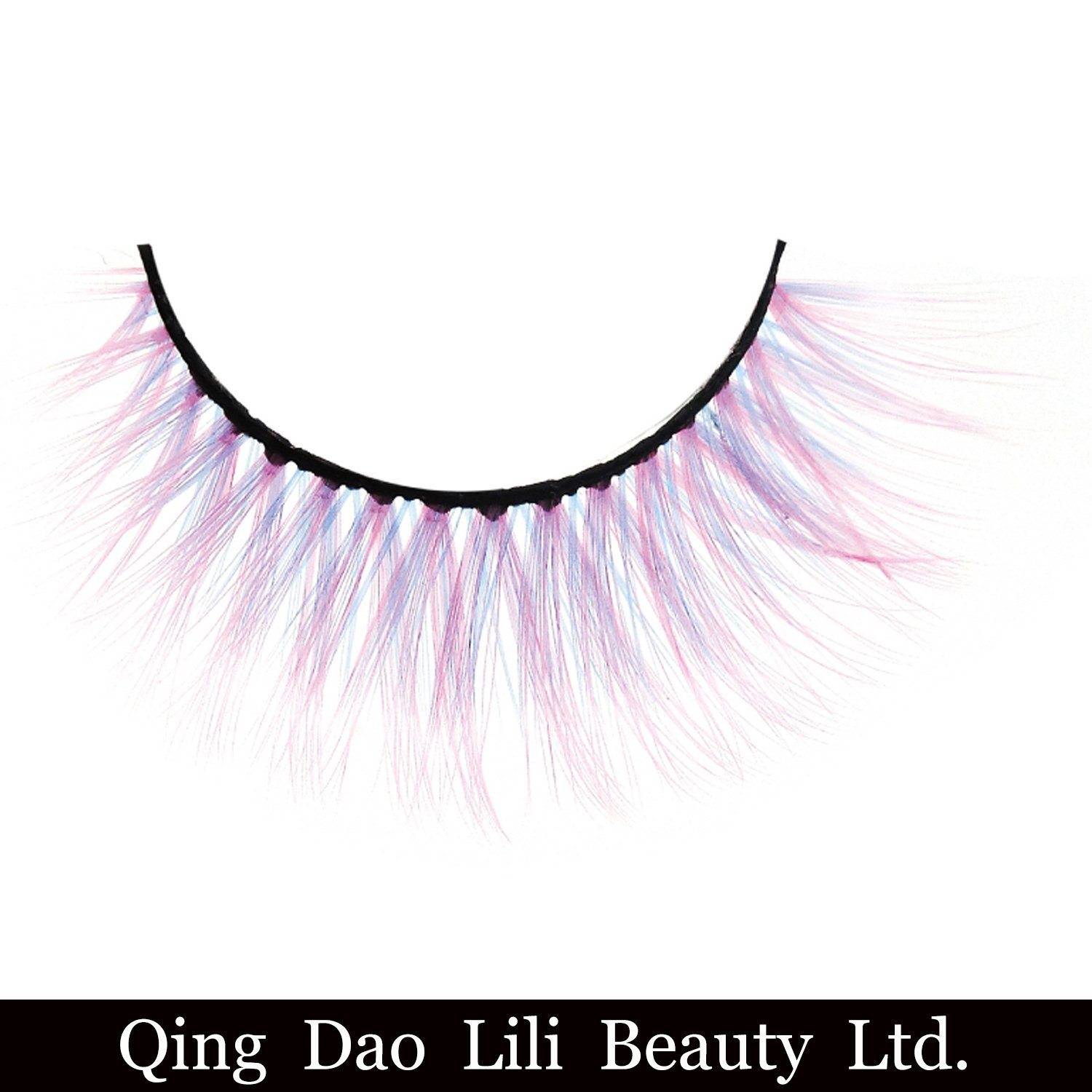China Party Queen Uv Neon False Eyelashes Hollyren Neon Magnetic