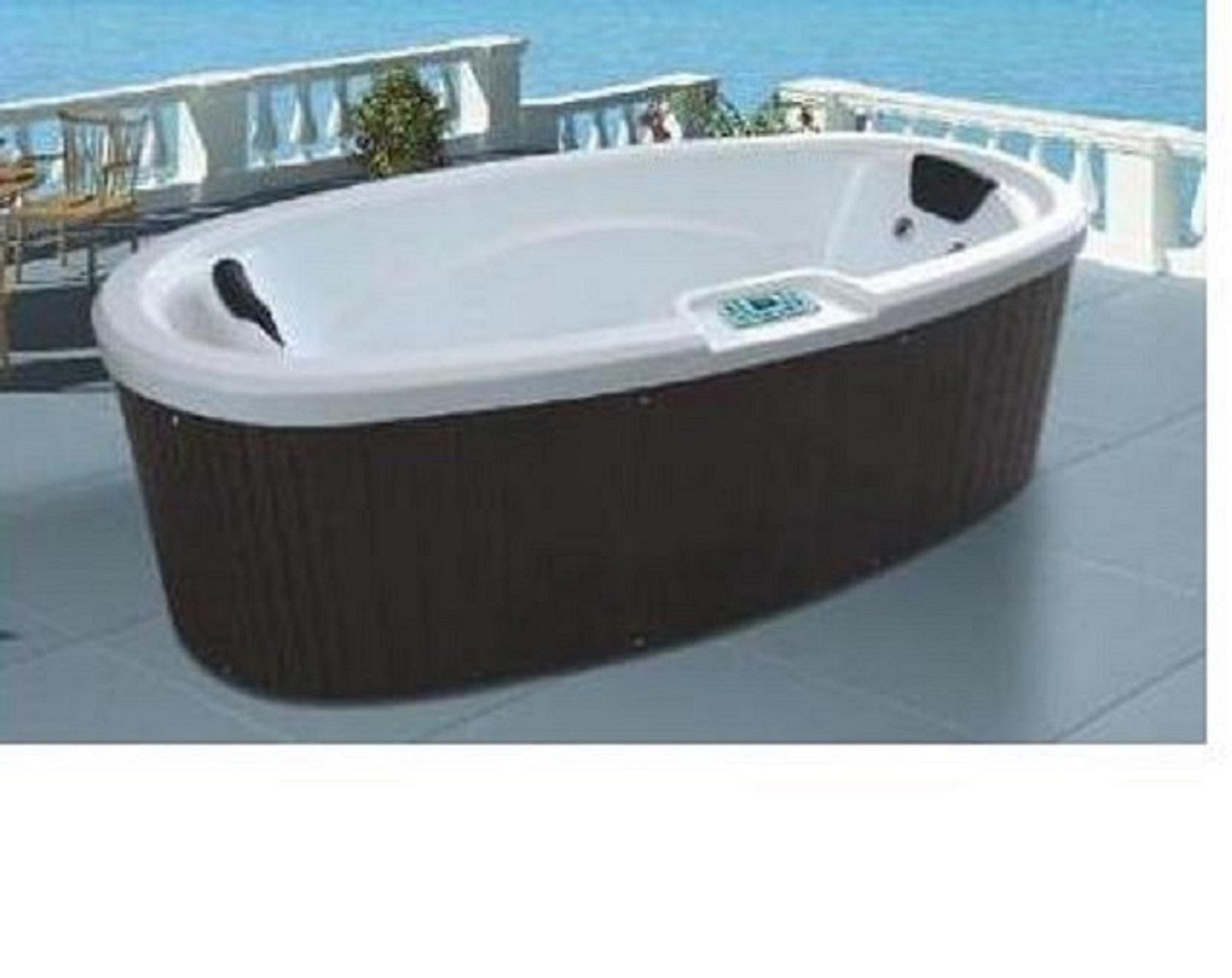 China Monalisa Acrylic Outdoor Massage SPA Bathtub Hot Tub Jacuzzi ...