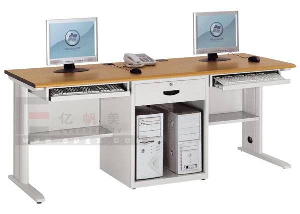 Hot Item School Office Furniture Double Desk Design Computer Table