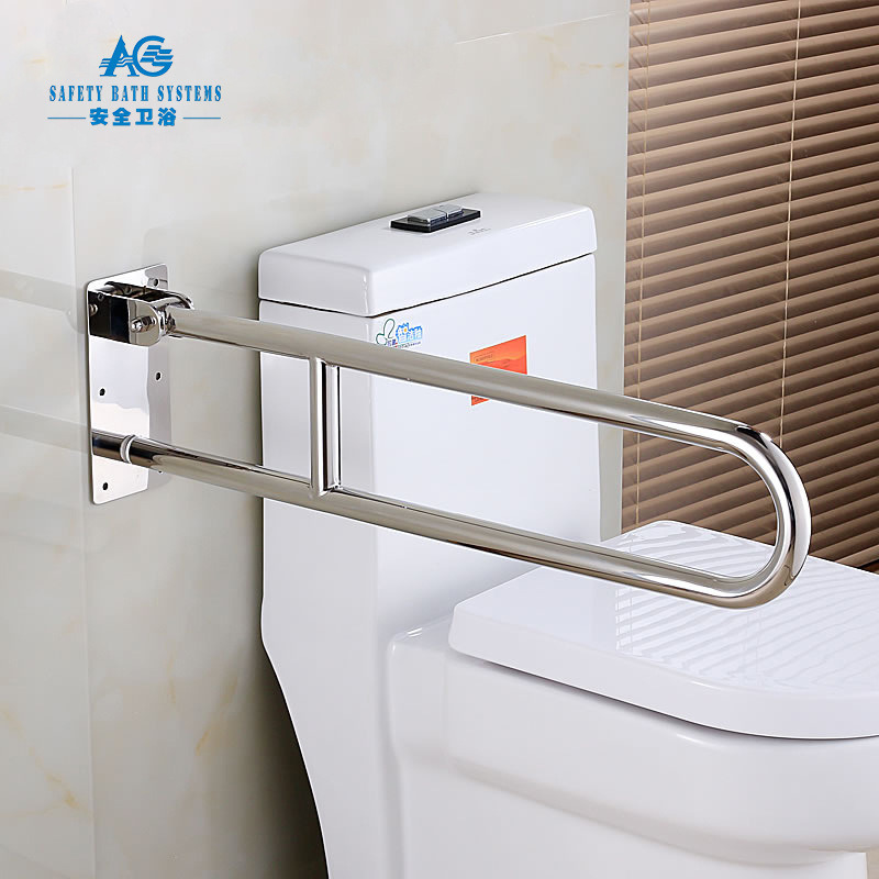 China Toilet Safety Grab Bar for Disabled Passed Ada Test - China ...