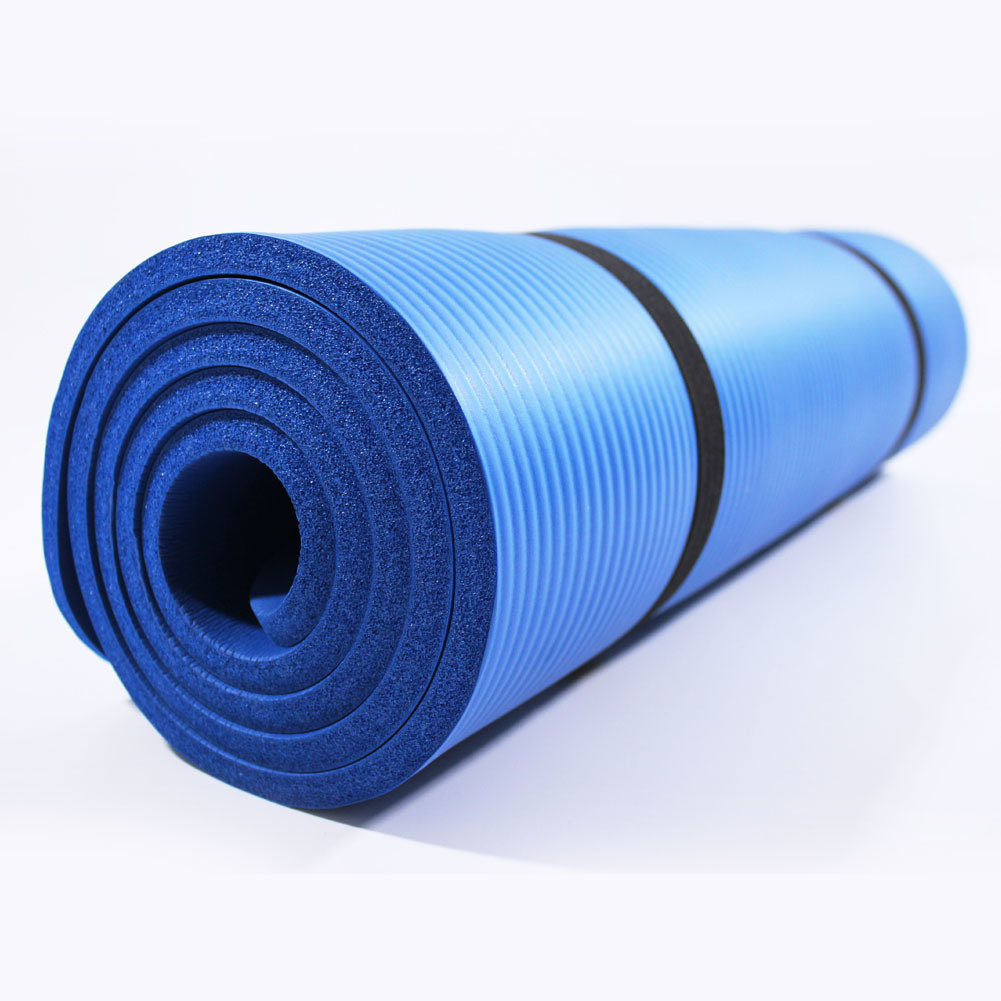 China 1 2 Inch Extra Thick Nbr Eco Friendly Non Slip Yoga Mat With A Carrying Strap China Yoga Mat And Fitness Mat Price