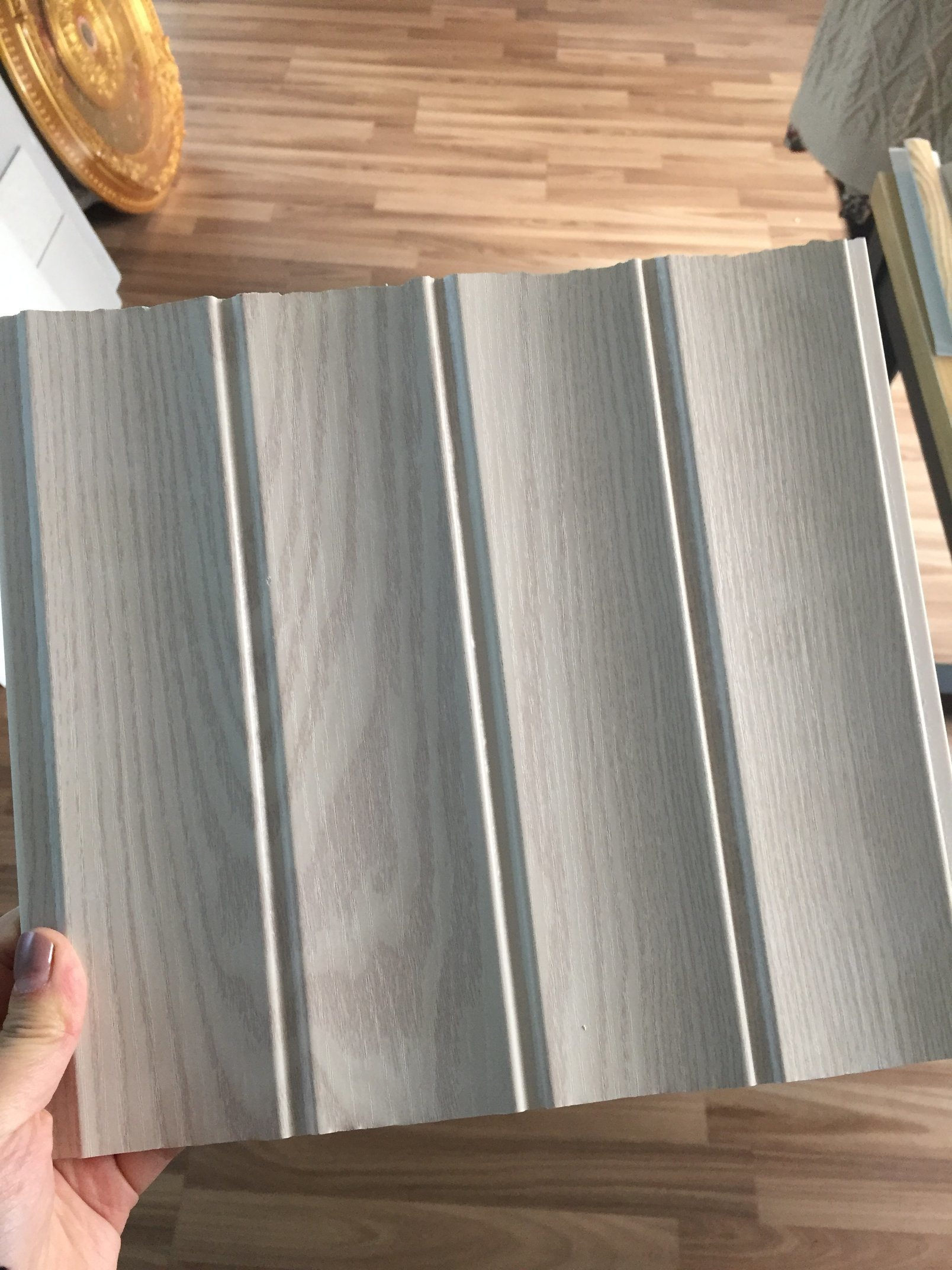 China 250mm Width Groove Lamination PVC Ceiling PVC Wall ...