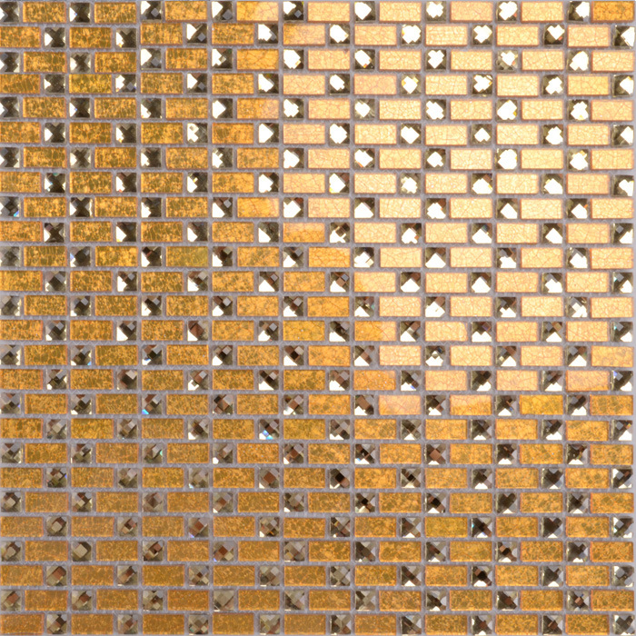 China In Stock Beveled Glass Sheet Mirror Mosaic Tile Building Materials Wall Decorative