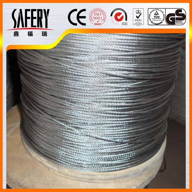 China 304 316 4mm Stainless Steel Wire Rope Price - China Stainless ...