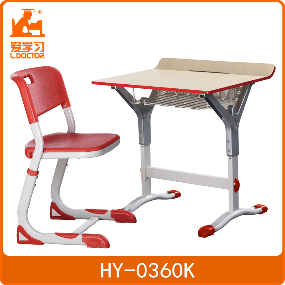 China Whole Modern School Furniture Children Single Student Desk