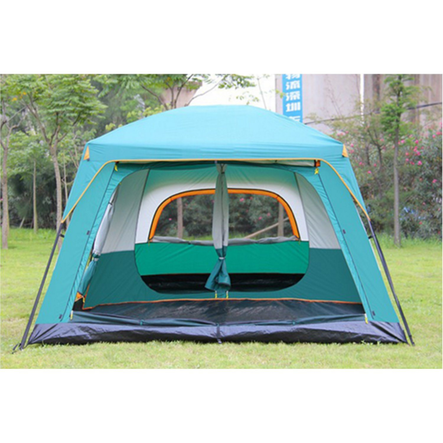 5-8 Person Outdoor Pop up Dome C&ing Tent with Waterproof  sc 1 st  Xiamen Yongstar Trading Co. Ltd. & China 5-8 Person Outdoor Pop up Dome Camping Tent with Waterproof ...