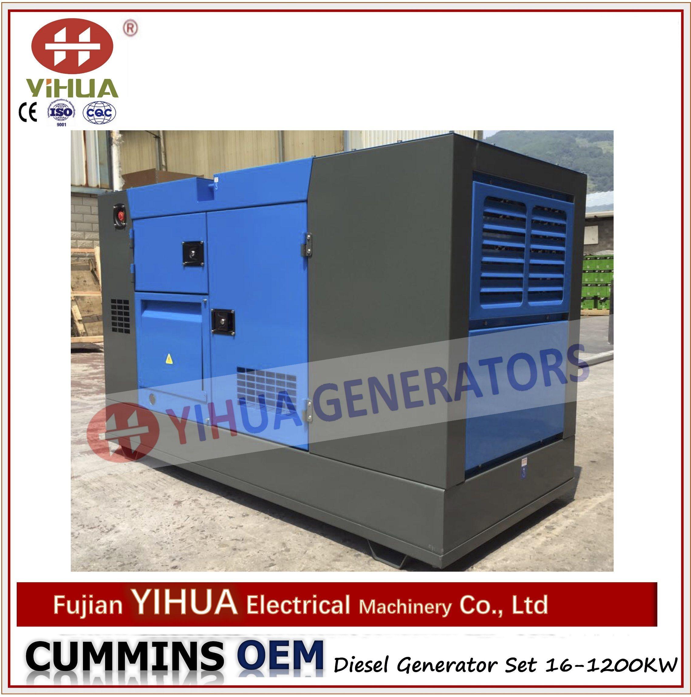 China Oem 20 1500kva Cummins Silent Canopy Diesel Power Electric Electrical Generators Generator Ic20180124a