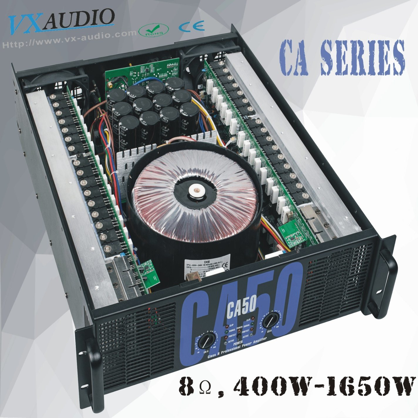 China 1650w Pro Stage Audio Disco High Power Amplifier Ca50 Short Circuit Protecting A Class Ab Electrical Engineering