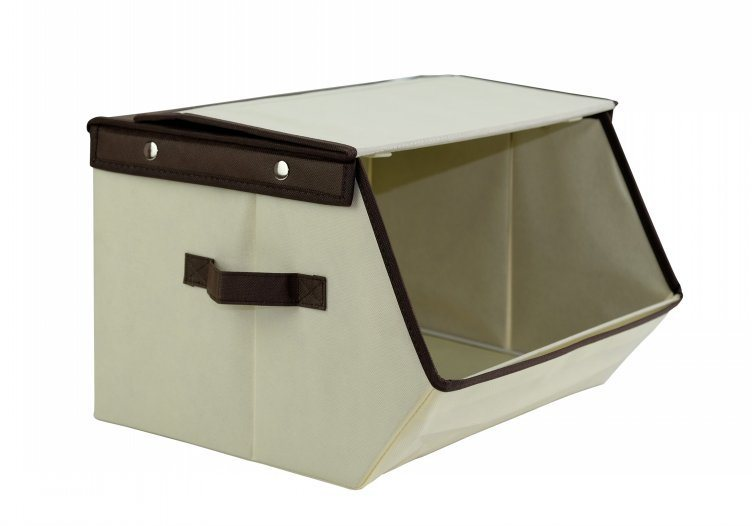 China Household Collapsible Storage Bin Fabric Storage Boxes With Dual  Handles And Lid   China Storage Bin, Storage Container