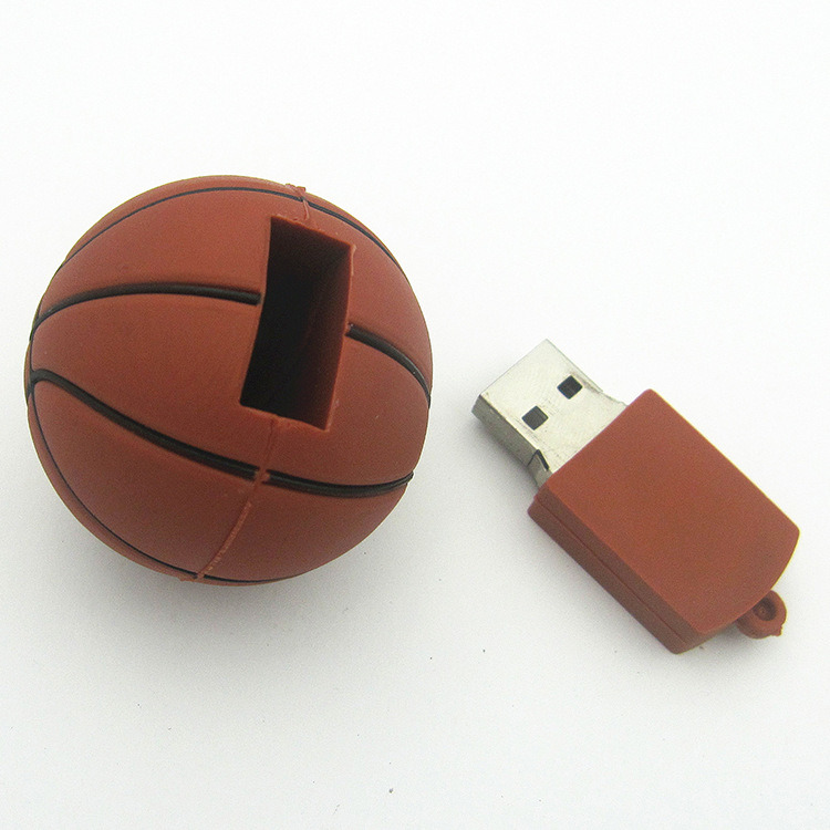 Sports Gifts Funny Basketball USB Drives Flash Memory Sticks 4 GB 8 GB Pen Drive pictures & photos