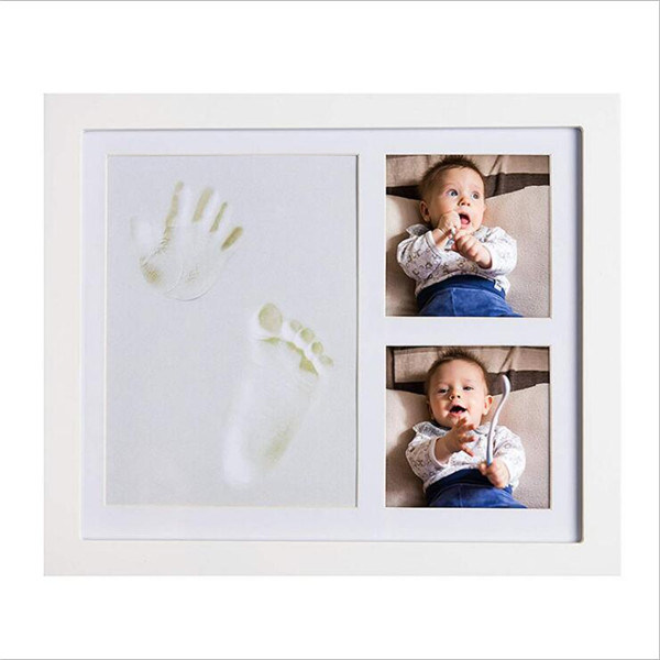 BABY HANDPRINT PICTURE FRAME