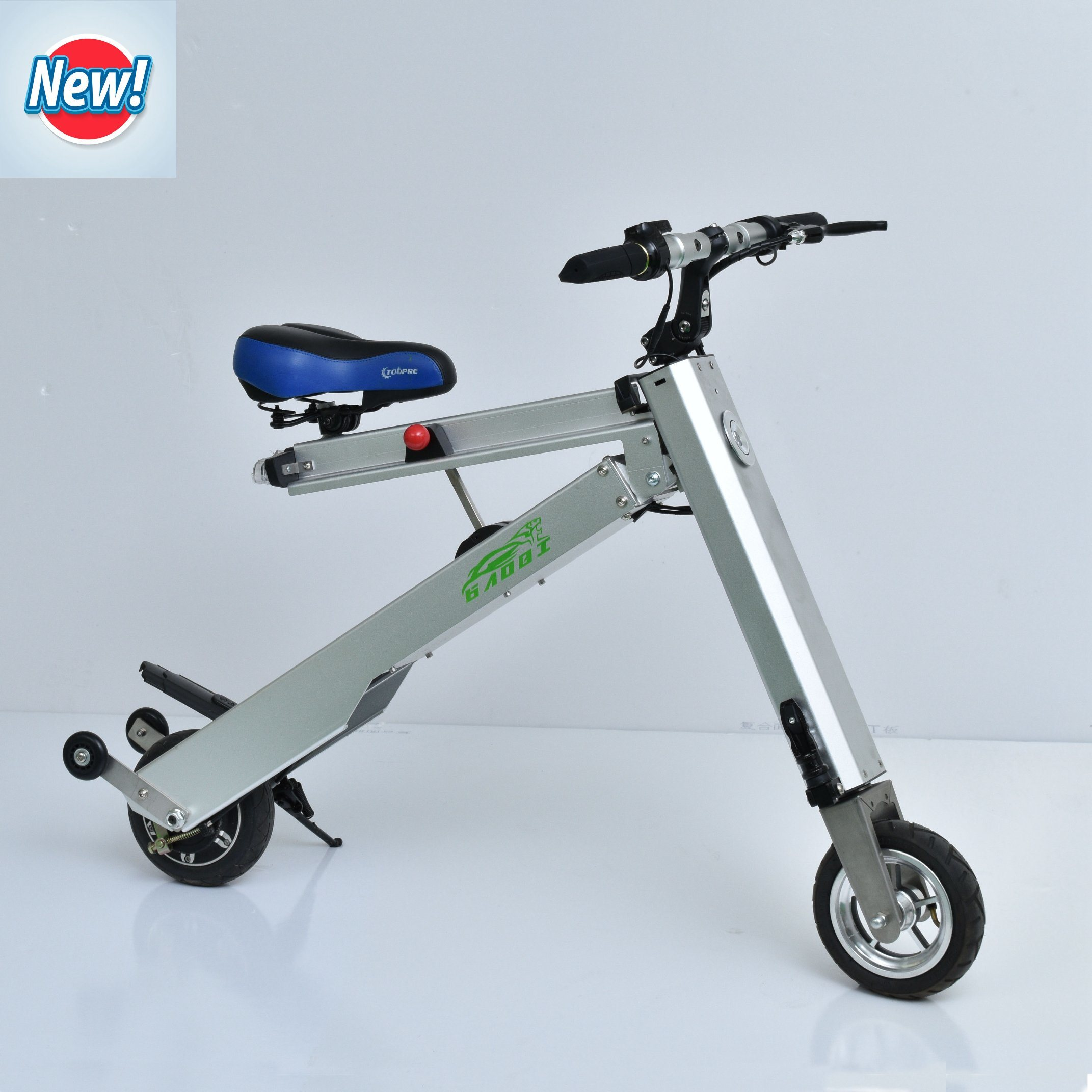 2f677828d14 China Ingenious Folding Design: Easily Folding Cleverly Fixed New Portable  Electric Bicycle Mini Bike Scooter E-Bike Suitable for Many Occasions -  China ...