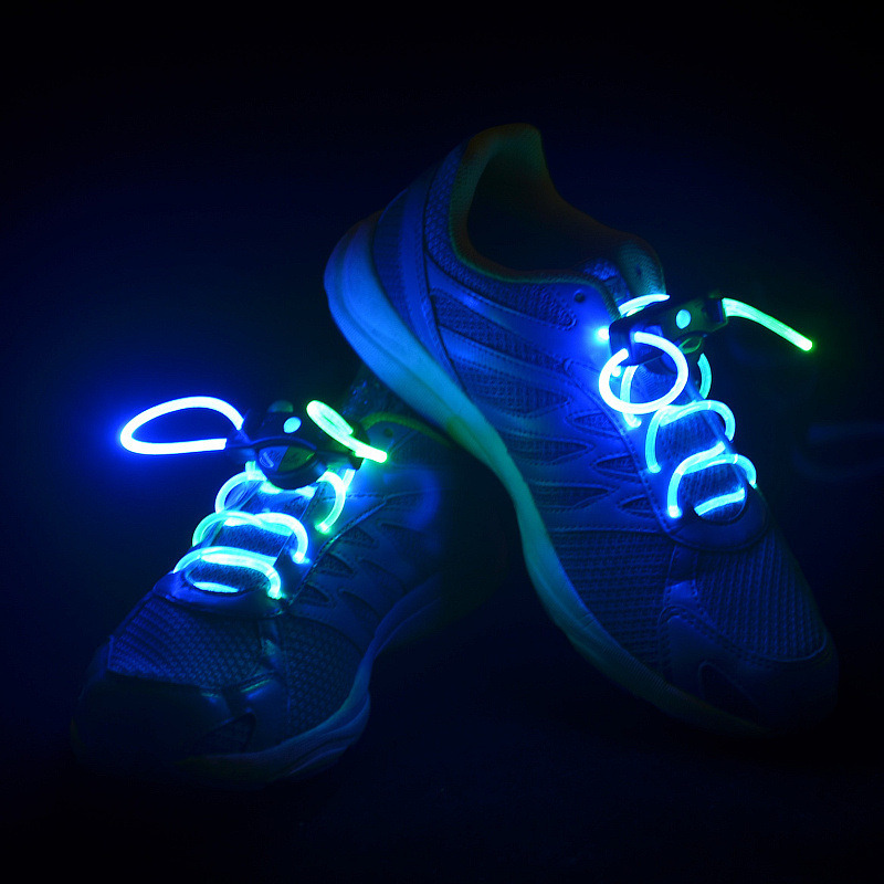 a02d6988c China Glow in Dark Night Sport Nylon LED Shoe Accessories LED Shoelaces -  China LED Shoe Lace