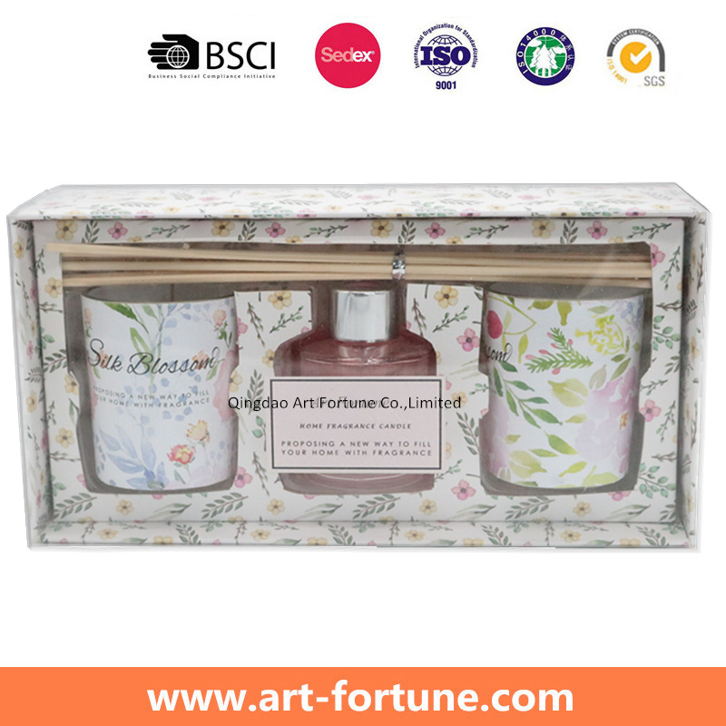 Home Fragrance Gift Set with Aroma Reed