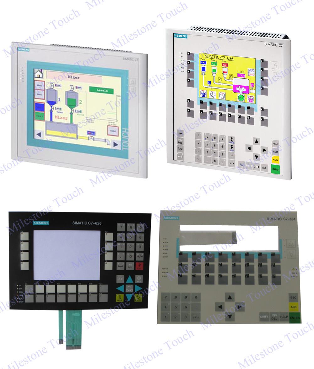 For Siemens C7-636 6ES7 636-2EC00-0AE3 membrane keyboard 6ES7636-2EC00-0AE3