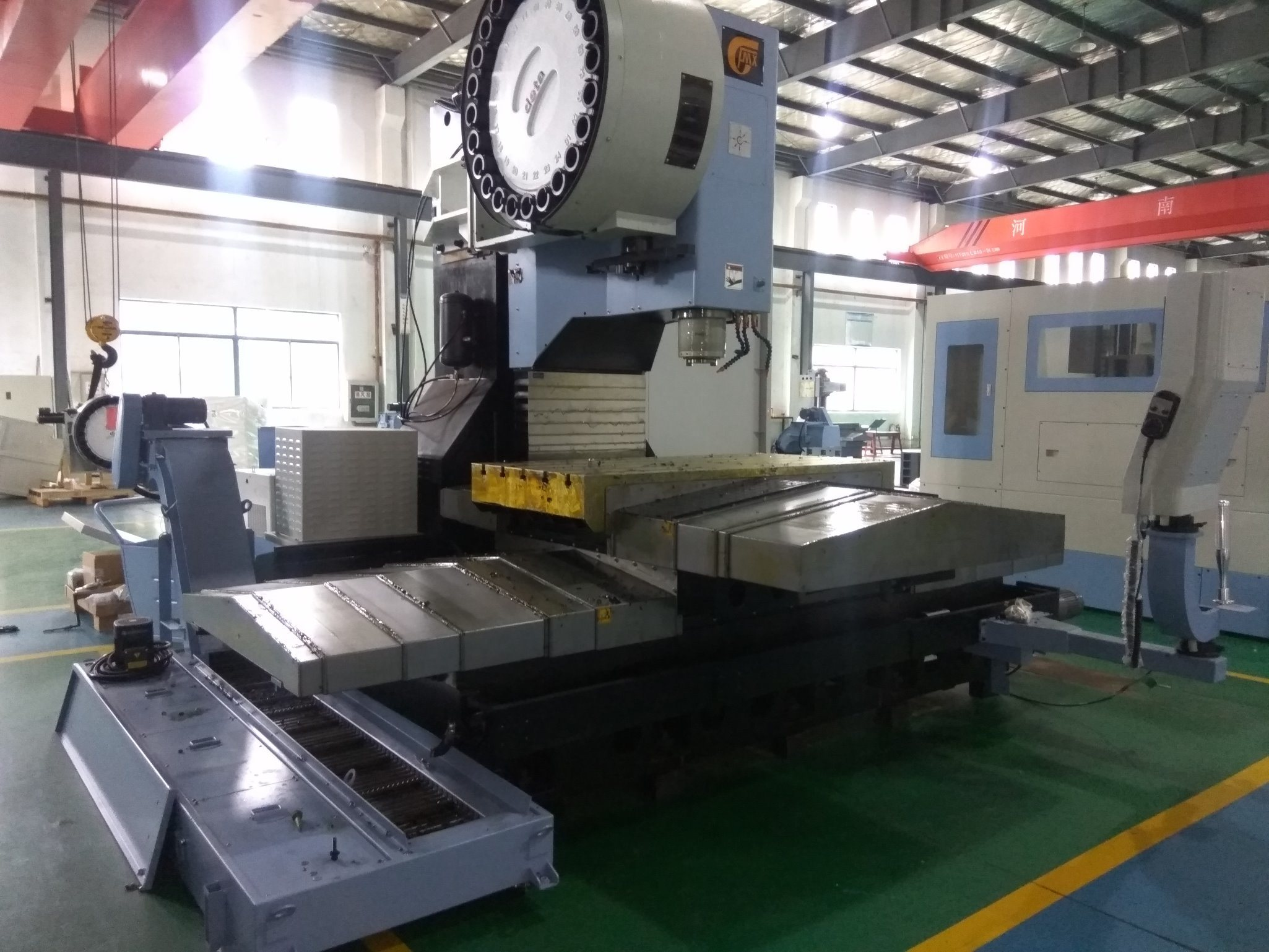 Vertical CNC Milling Machinery with Advanced Technology for Heavy Cutting (MV-1370)
