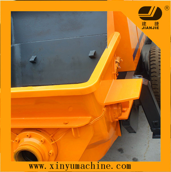 Portable Trailer Concrete Pump with Mixer (JBT30) pictures & photos