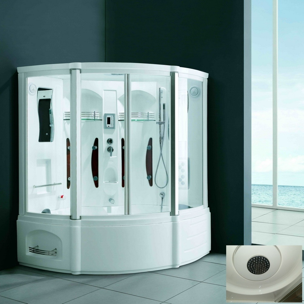 China Enclosed Fiberglass Steam Shower Room Cabinet (M-8215) - China ...