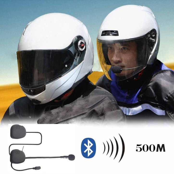 Motorcycle Helmet With Bluetooth Music Aktif Elektronik
