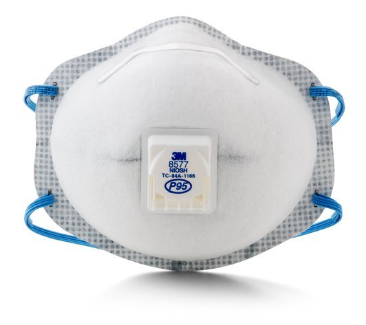 With Vapor 3m™ P95 Relief Item Level Organic Respirator hot Nuisance Particulate 8577