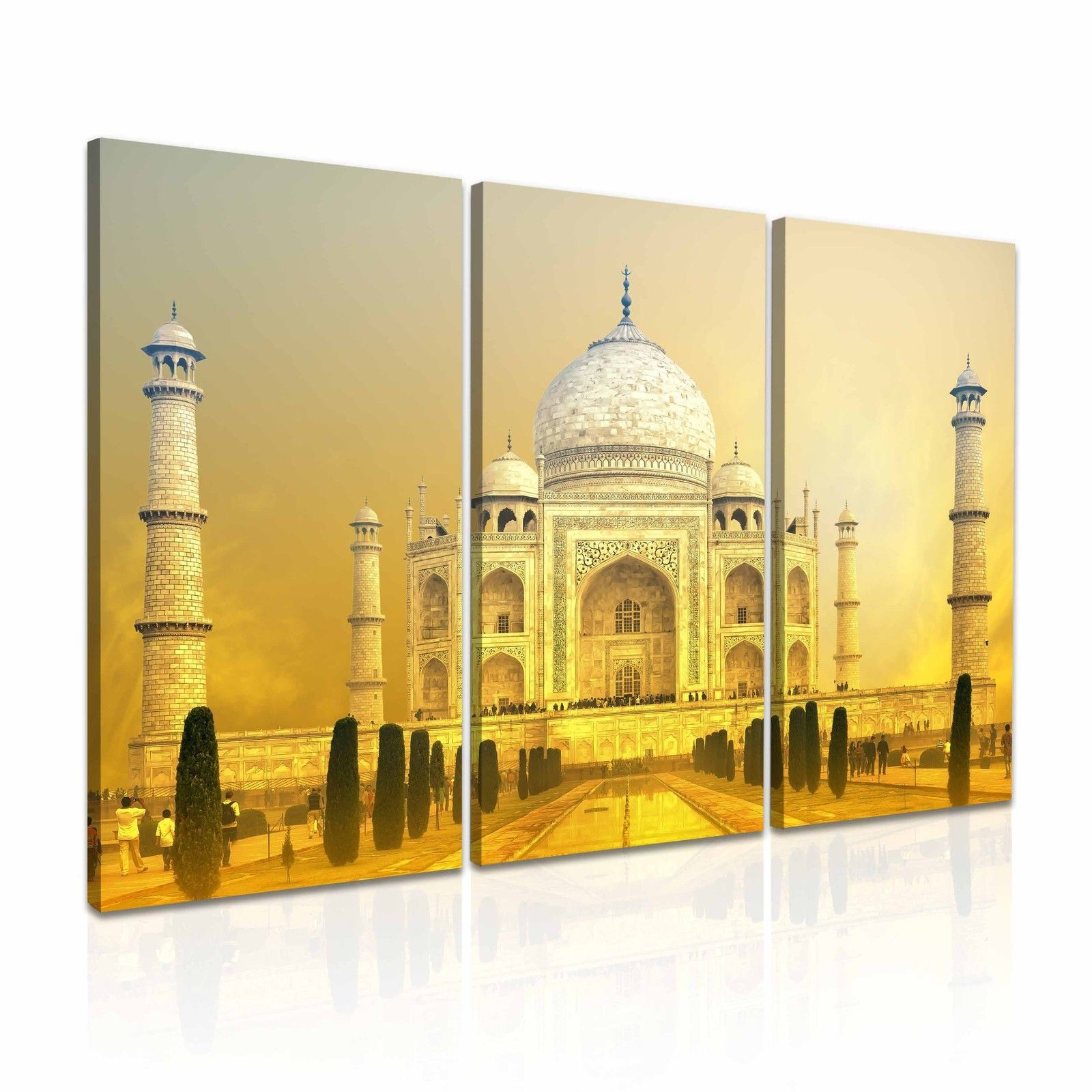 China Taj Mahal Landscape Canvas Art Painting for Wall Decoration ...