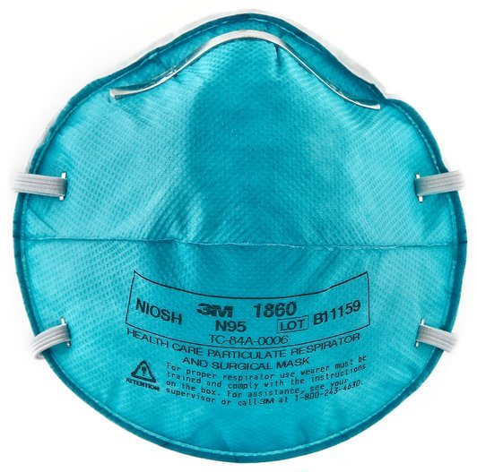 hot Surgical 1860 Health Item And Respirator 3m™ N95 Mask Care Particulate