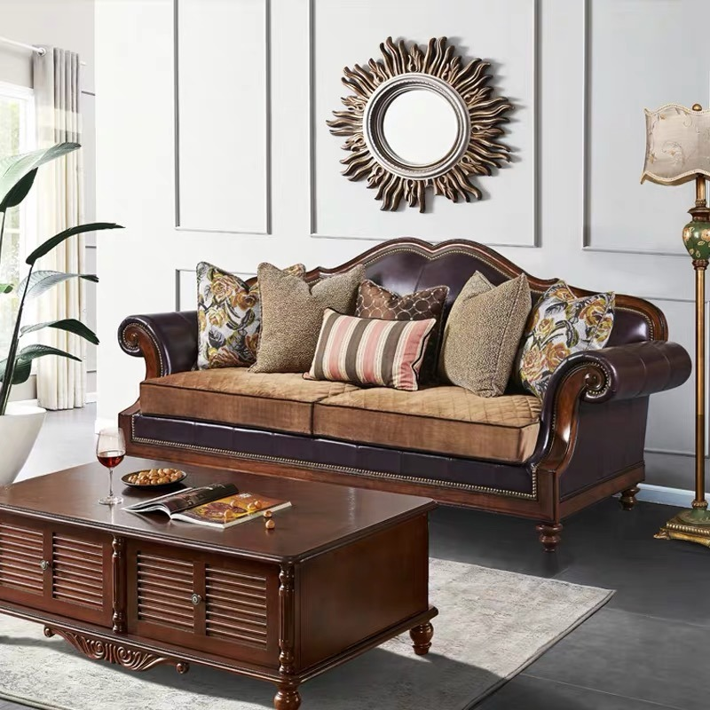 Velour Fabric Living Room Sofas